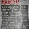 Çewlîg De Rojnameyo Heremî Ra Manşêto Balkêş