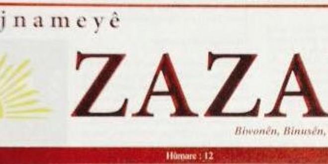 Rojnameyê Zazakî Hûmara Diwêsine Vejîya